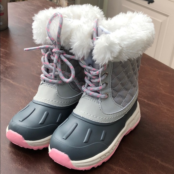 Shoes | Carters Girls Snow Boots Size
